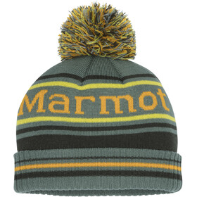 Marmot Retro Pom Hat Gutter Crocodile/Rosin Green